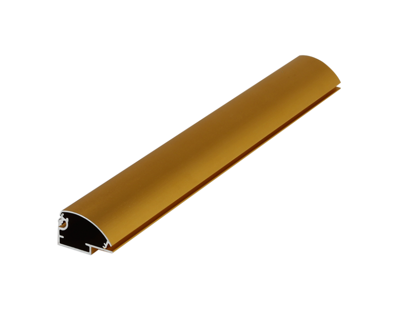 Golden light box aluminum